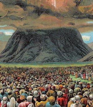 Origin of Judaism at Mount Sinai